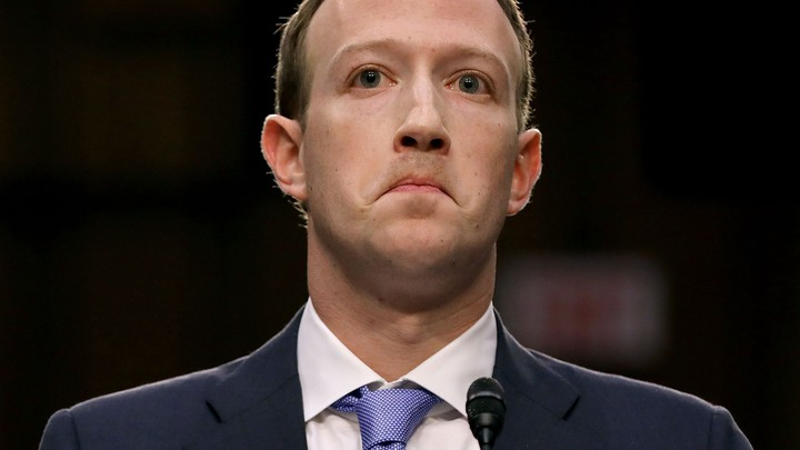 Mark Zuckerberg makes a pained face.