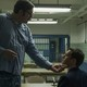 Serial killer Edmund Kemper (Cameron Britton) and FBI Agent Holden Ford (Jonathan Groff) in Netflix's 'Mindhunter,' directed by David Fincher