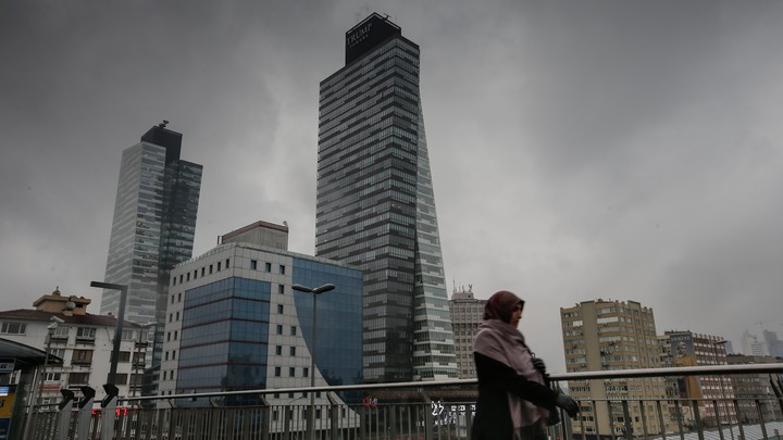 Trump Towers in Istanbul, Turkey, a country not included in the executive order