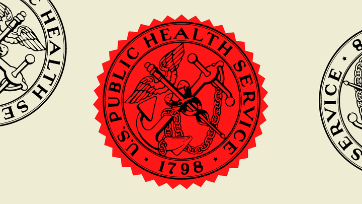 An illustration of the U.S. Public Health Service seal