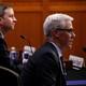 Google's Richard Salgado, Twitter's Sean Edgett, and Facebook's Colin Stretch testify.