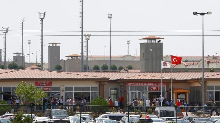 The Silivri prison complex near Istanbul, Turkey