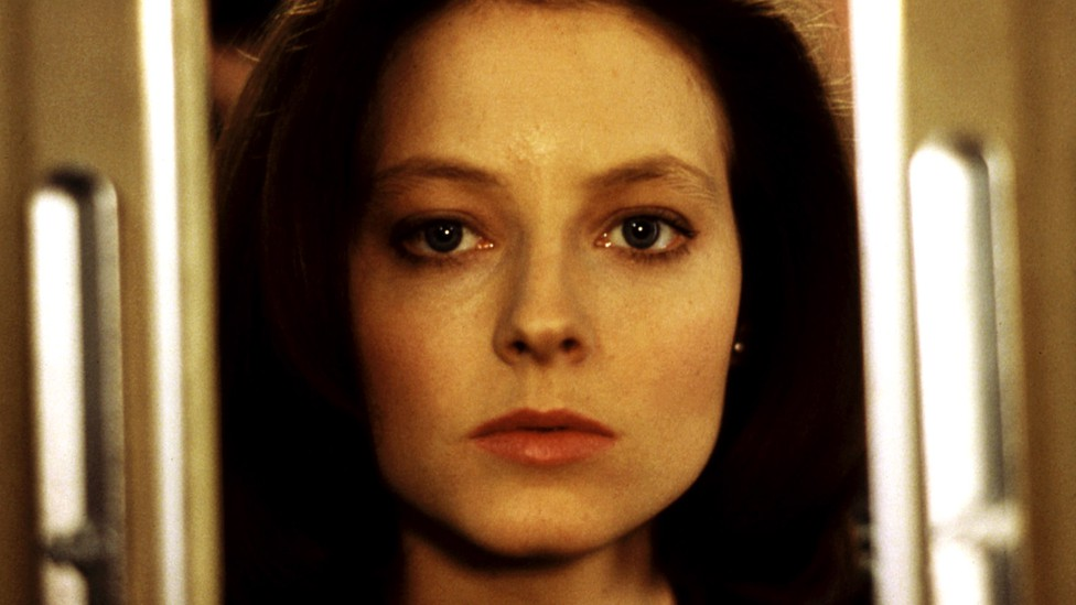 Clarice Starling played by Jodie Foster in Silence of the Lambs