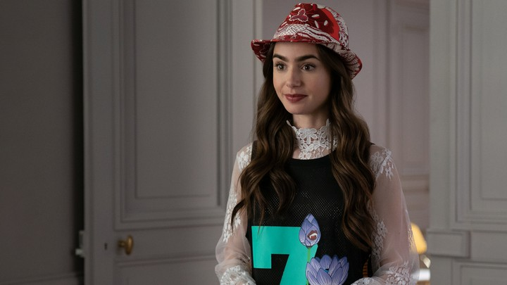 Lily Collins stars in 'Emily in Paris.'