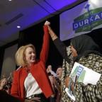 Seattle mayor-elect Jenny Durkan is pictured.