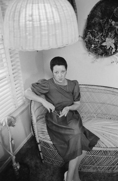 A photo of Norma McCorvey, September 28, 1985