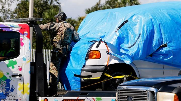 Cesar Sayoc's van was seized on October 26, 2018.