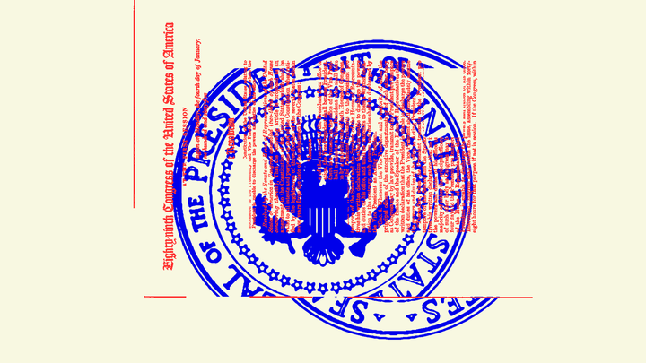 An illustration of the U.S. presidential seal.