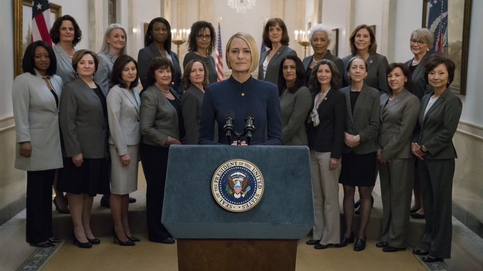 A still from 'House of Cards' Season 6
