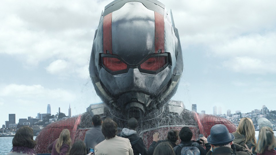 A still from 'Ant-Man'
