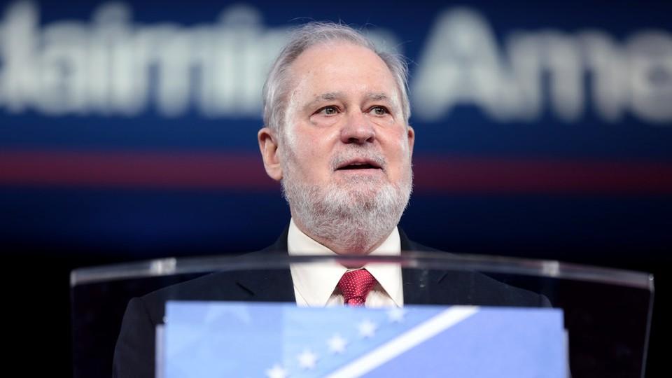 Larry Arnn, the president of Hillsdale College