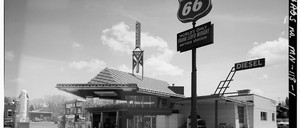 Lindholm Oil Company Service Station in Carlton County, Minnesota