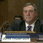 Former Census Bureau Director John Thompson, pictured during his Senate confirmation hearing in 2013.
