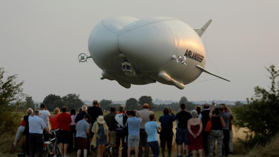 The Airlander 10 hybrid airship