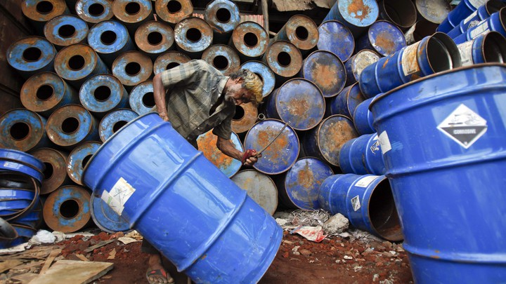 How Toxic-Waste Drums Spread Around the World - The Atlantic