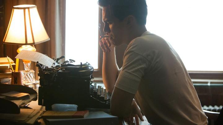 Nicholas Hoult as J.D. Salinger in the biopic 'Rebel in the Rye'