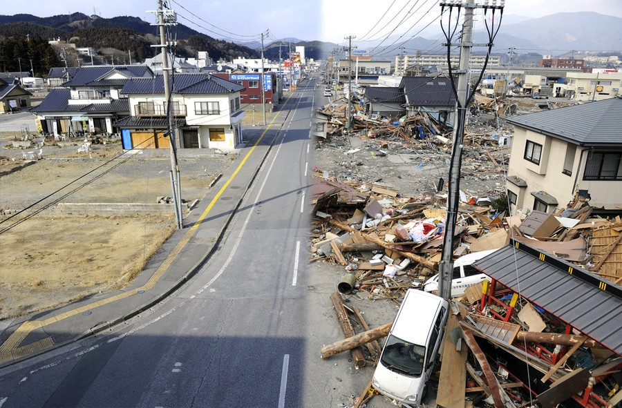 Japan Earthquake: Before and After - The Atlantic