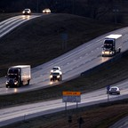 photo: Interstate 70 near Odessa, Mo.
