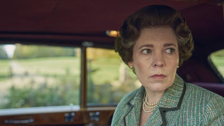 "Olivia Colman as Queen Elizabeth II in ""The Crown"""