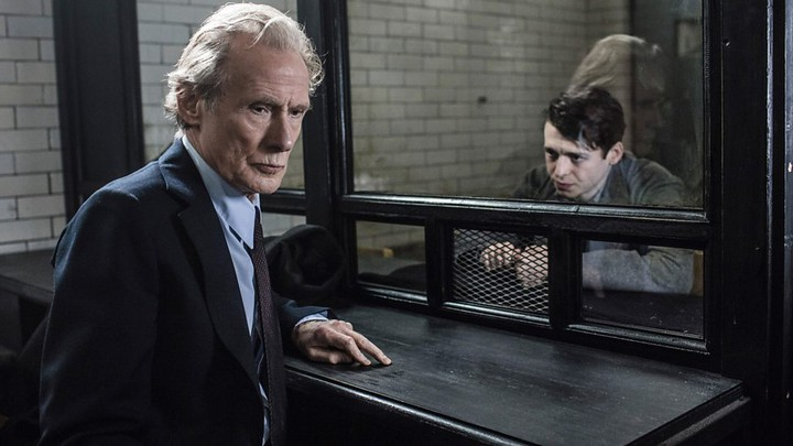 Bill Nighy and Anthony Boyle in Amazon's 'Ordeal by Innocence,' adapted from the Agatha Christie novel