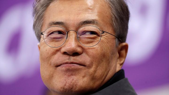 South Korean President Moon Jae In