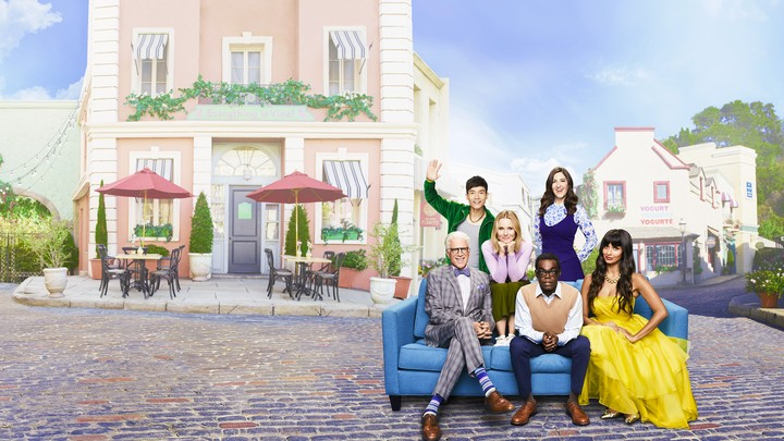 Promotional photo for The Good Place.