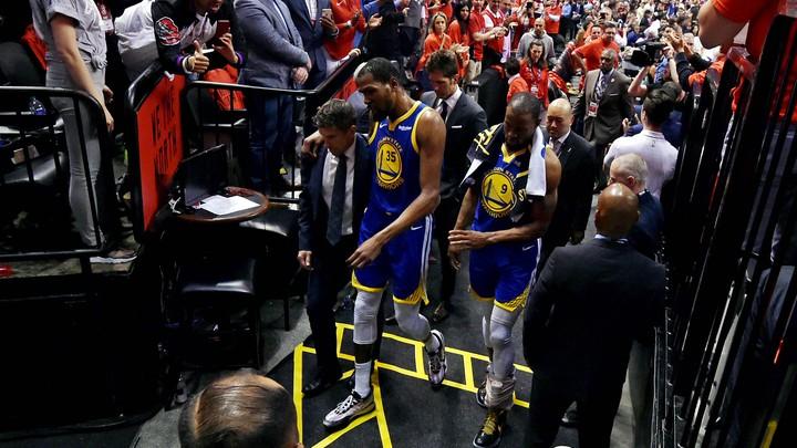 Kevin Durant S Disastrous Comeback Nba Finals The Atlantic