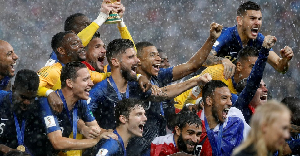 France S World Cup Victory Is A Win For Emmanuel Macron The Atlantic