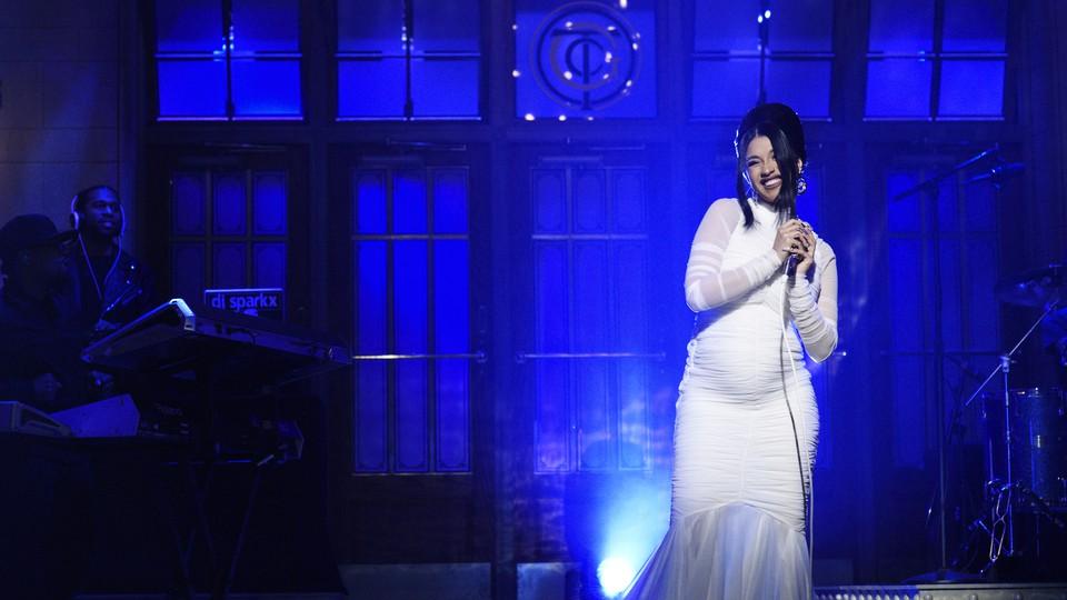 Cardi B on 'Saturday Night Live'