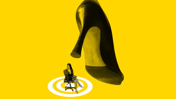 Bilderesultater for woman harassing other woman illustration