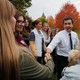 South Bend, Indiana Mayor Pete Buttigieg thanks campaign volunteers in New Hampshire