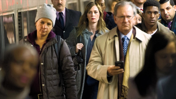 Emily Blunt stars as Rachel in the film adaptation of 'The Girl on the Train'