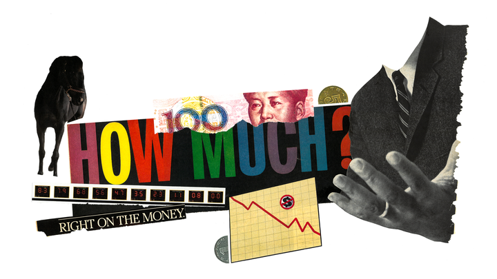 A collage of images illustrating various issues related to gambling.