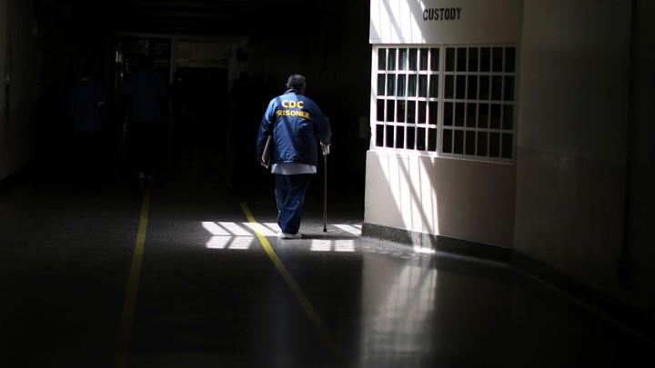 A prison in California
