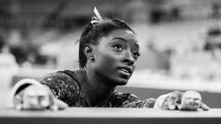 Simone Biles at a competition.