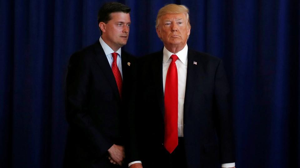 Rob Porter and Donald Trump