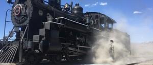 a photo of a steam locomotive