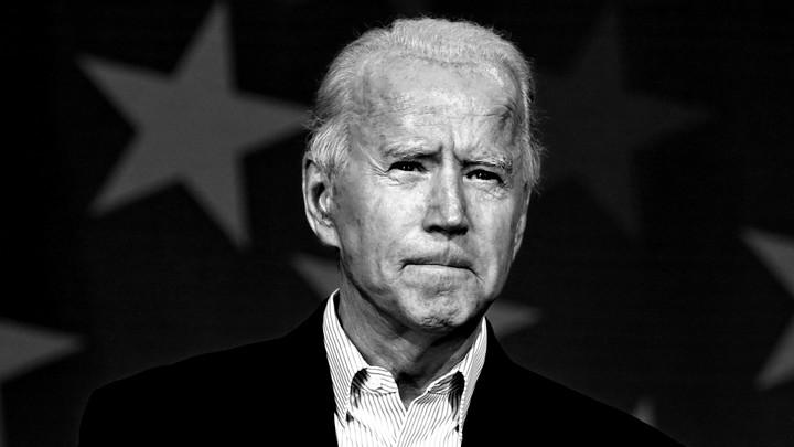 A portrait of Joe Biden
