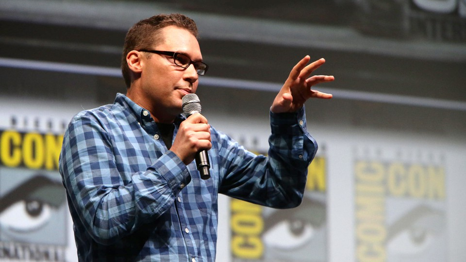 Bryan Singer seen at the 20th Century Fox Presentation at the 2013 Comic-Con in San Diego.