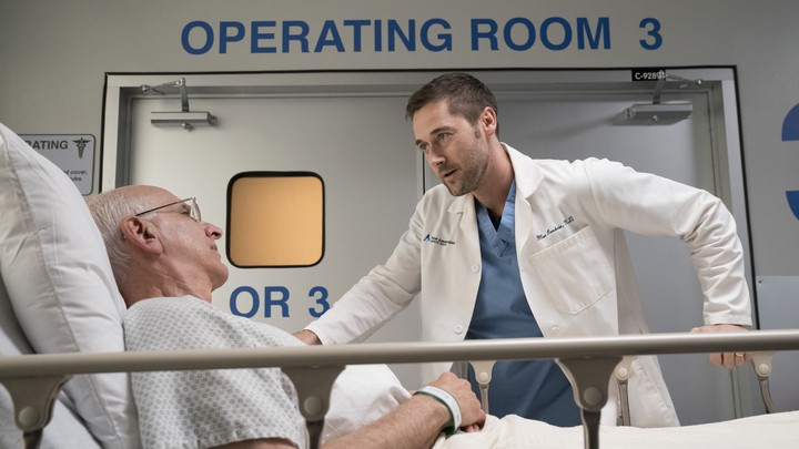 Ryan Eggold as Dr. Max Goodwin on 'New Amsterdam'