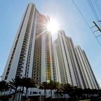 Trump Towers I, II and III in Sunny Isles Beach, a suburb of Miami.