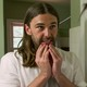 Jonathan Van Ness sizes up a client in 'Queer Eye'