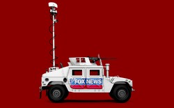 An illustration of a Fox News military truck.