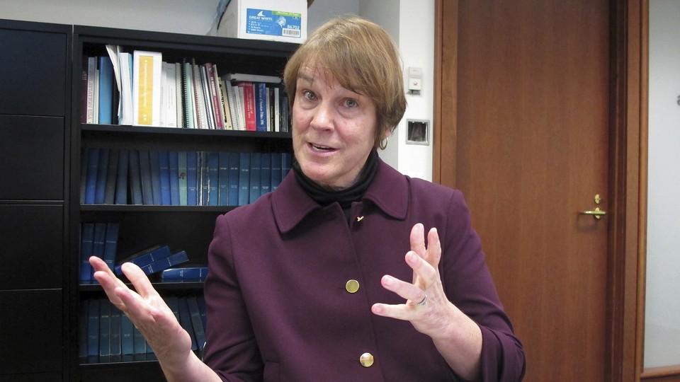 Lisa Neubauer speaks about her race against fellow appeals-court Judge Brian Hagedorn.