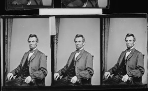 Contact sheet of Lincoln