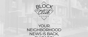 Screenshot of the Block Club Chicago landing page.