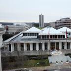 North Carolina's legislature building.