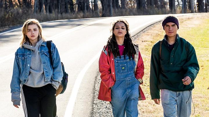 Chloë Grace Moretz, Sasha Lane, and Forrest Goodluck in 'The Miseducation of Cameron Post'