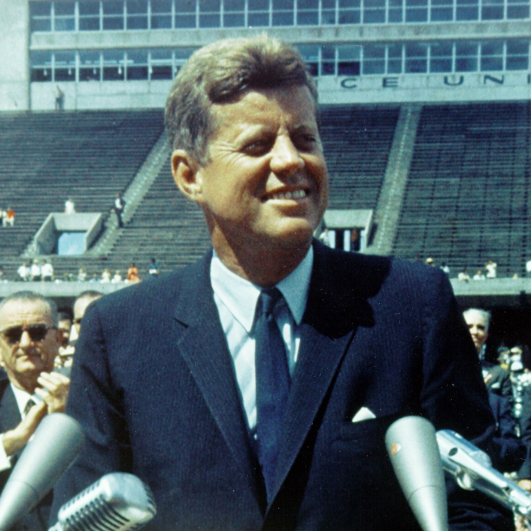 John F. Kennedy's Famous Moon Speech, 21 Years Later   The Atlantic