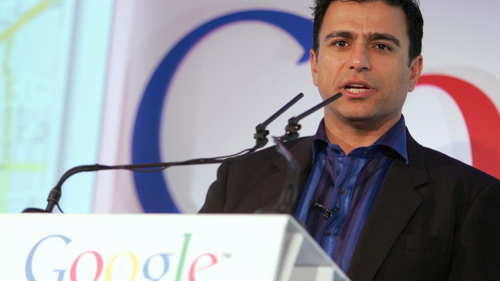 Omid Kordestani, a senior vice president at Google, spoke at the opening of a new office in London in 2005.